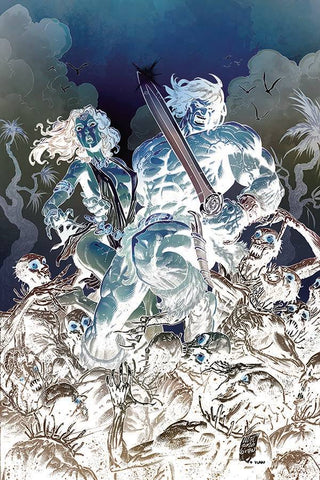Cimmerian: Iron Shadows in the Moon #1 - 1:30 Ratio Variant - Brian Level