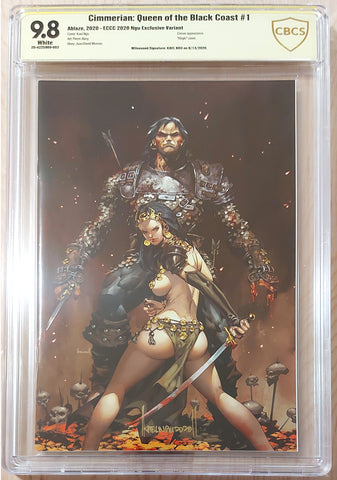 Cimmerian: Queen of the Black Coast #1 - Signed CBCS 9.8 Graded Slab - CK Exclusive - Kael Ngu
