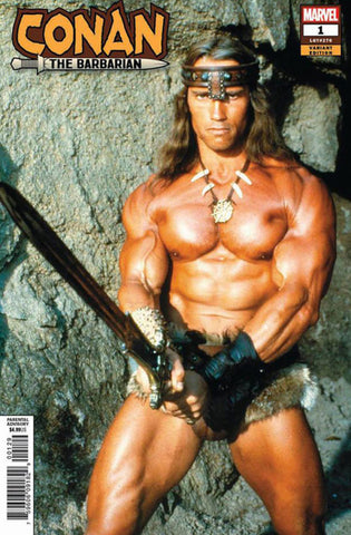 Conan the Barbarian #1 - Schwarzenegger Photo Exclusive Variant