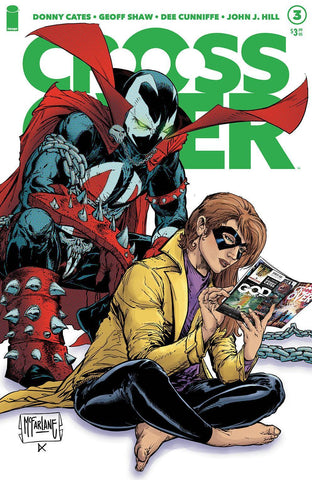 Crossover #3 - Cover B - Todd McFarlane
