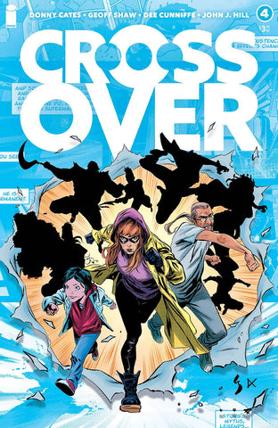 Crossover #4 - Cover A - 02/24/21 - Geoff Shaw