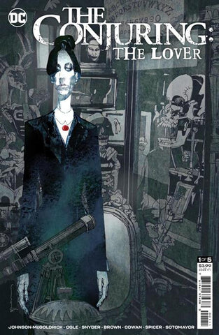 DC Horror Presents The Conjuring: The Lover #1 - Cover A - 06/01/21 - Bill Sienkiewicz