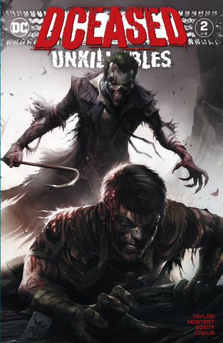 DCeased: Unkillables  #2 - Variant - Franceso Mattina