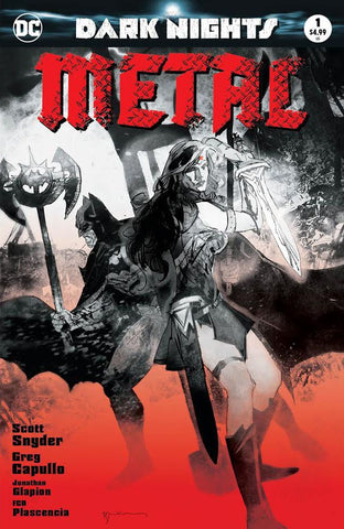 Dark Nights: Metal #1 (of 6) - Exclusive Sketch Variant - Bill Sienkiewicz