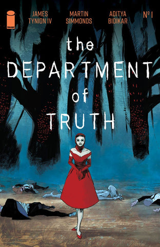 Department of Truth #1 - 1:100 Ratio Variant - Werther Dell'Edera