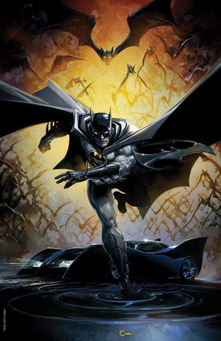 Detective Comics #1000 Exclusive Virgin Variant Cover by Clayton Crain