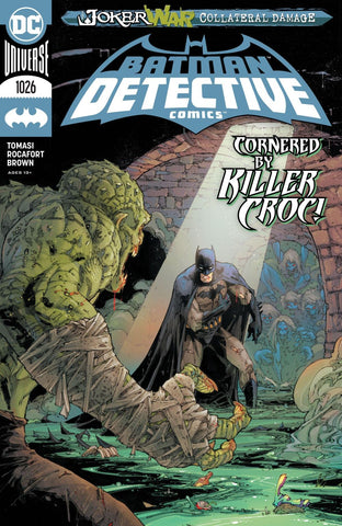 Detective Comics #1026 - Cover A - Andrew Hennessy