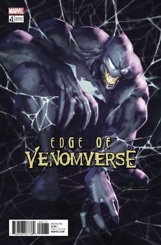 Edge of Venomverse #1 - Exclusive Variant -Gerald Parel