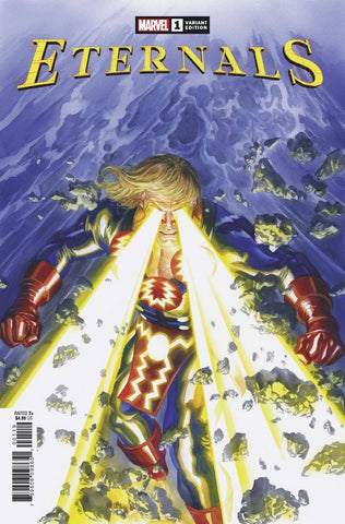 Eternals #1 - Variant - Alex Ross