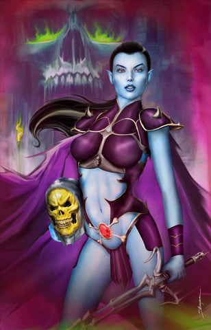 Faro's Lounge - CK Exclusive - Skeletor Cosplay Variant - Sheldon Bueckert