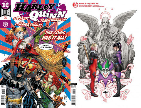 Harley Quinn #75 - Covers A/B Set - Guillem March, Frank Cho