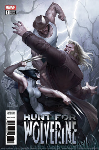 Hunt for Wolverine #1 - Exclusive Variant - InHyuk Lee