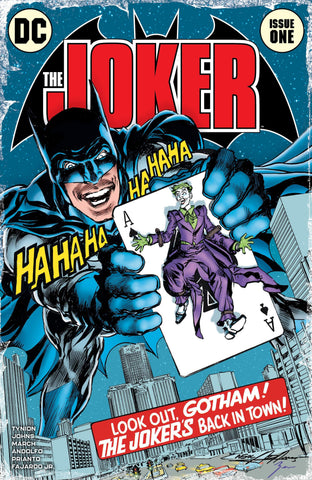 Joker #1 - Exclusive Variant - Batman #251 Homage - Neal Adams