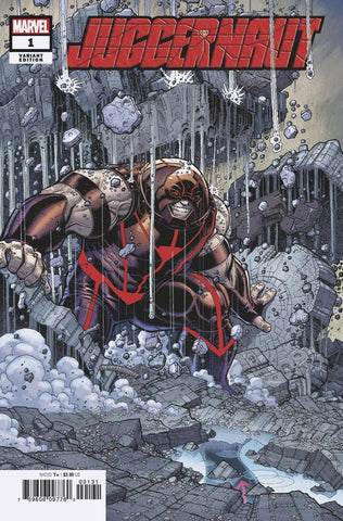 Juggernaut #1 - 1:50 Ratio Variant - Nick Bradshaw
