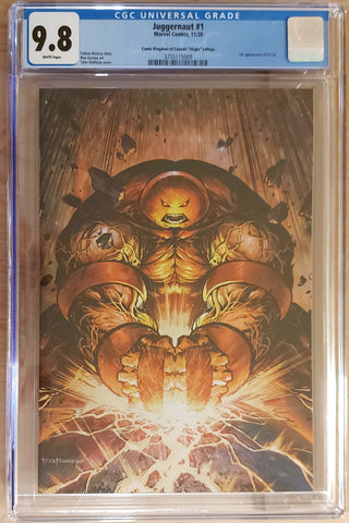Juggernaut #1 - CK Exclusive - Cover B - CGC 9.8 Graded Slab - Tyler Kirkham