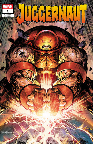 Juggernaut #1 - CK Exclusive Trade Dress - DAMAGED COPY - Tyler Kirkham