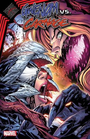 King in Black: Gwenom Vs. Carnage #3 - Cover A - 03/03/21 - Ken Lashley