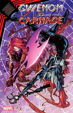 King in Black: Gwenom Vs. Carnage #2 - Cover A - Ken Lashley