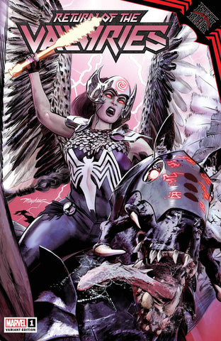 King in Black: Return of the Valkyries #1 - Exclusive Variant - Mike Mayhew