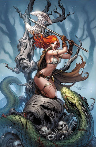 Killing Red Sonja #1 - Exclusive Virgin Variant - Sabine Rich