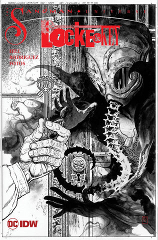 Locke & Key/Sandman: Hell & Gone #1 - 1:25 Ratio Variant - J.H. Williams