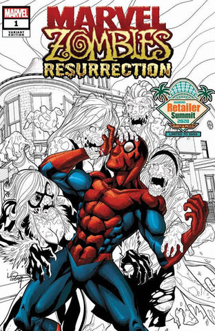 Marvel Zombies: Resurrection #1 - Diamond Retailer Summit Variant - Logan Lubera