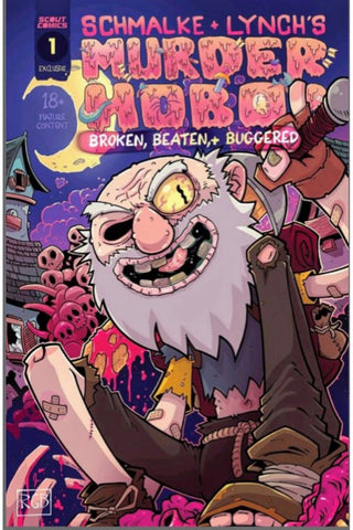 Murder Hobo #1 - Cover B - Jason Lynch