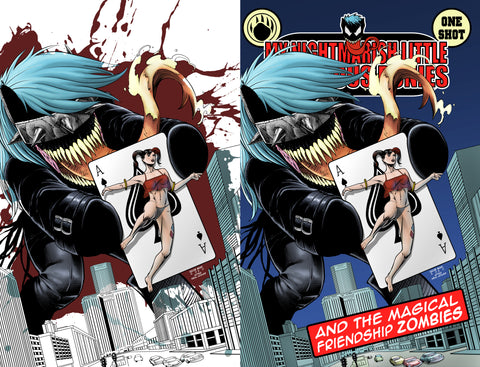 My Nightmarish Little Venomous Ponies - Batman #251 Homage - Jacob Bear