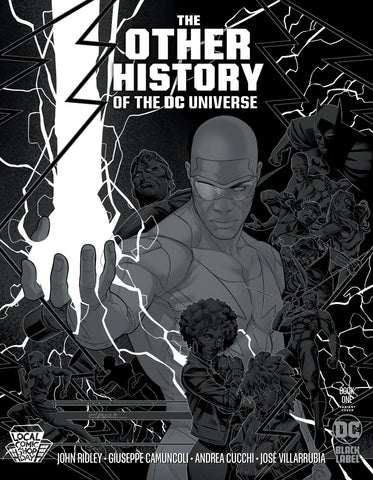 Other History of the DC Universe #1 - Local Comic Shop Day Variant - Jamal Campbell