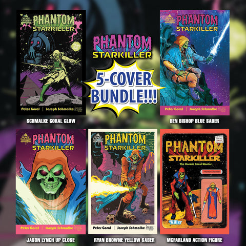 Phantom Starkiller #1 - Exclusive Variant Bundle - Various Artists