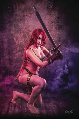 Red Sonja: Age of Chaos #6 - 1:30 Ratio Variant - Klaudia Bloom Cosplay