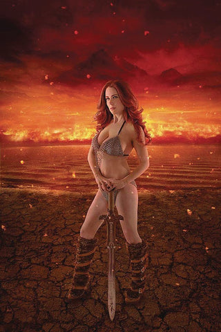 Red Sonja: Age of Chaos #1 - 1:30 Ratio Cosplay Variant - Guy Iorio