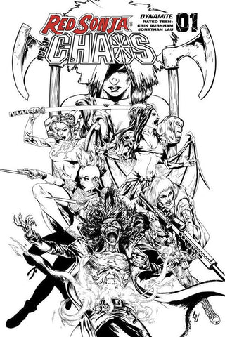 Red Sonja: Age of Chaos #1 - 1:35 Ratio Variant - Jonathan Lau