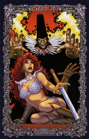 "Red Sonja: Age of Chaos #1 - 1:60 Ratio ""Icon"" Variant - John Romita, Sr. & Jr."