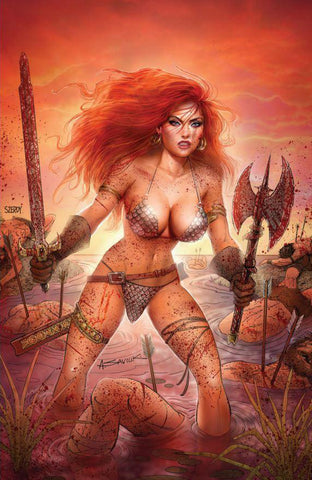 Red Sonja: Age of Chaos #6 - Exclusive Variant - Alex Saviuk & Nathan Szerdy