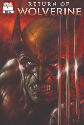 Return of Wolverine #1 - Exclusive Variant - Lucio Parrillo