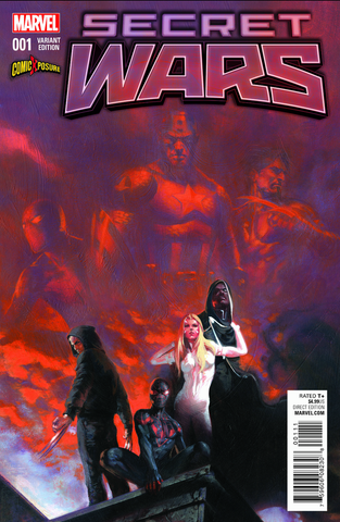 Secret Wars #1 - Exclusive Variant - Gabriele Dell'Otto