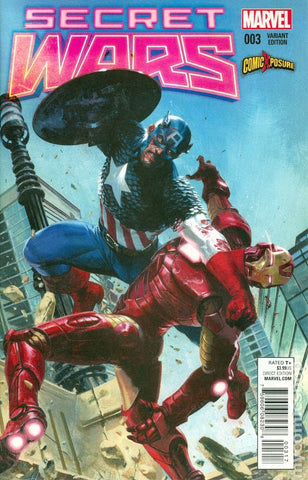 Secret Wars #3 - Exclusive Variant - Gabriele Dell'Otto