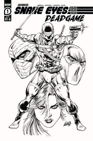 Snake Eyes: Deadgame #1 - 1:10 Ratio Variant - Rob Liefeld