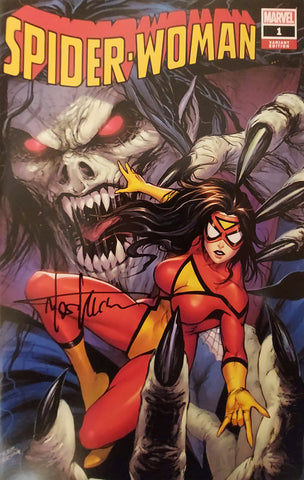 Spider-Woman #1 - CK Exclusive - SIGNED - Tyler Kirkham
