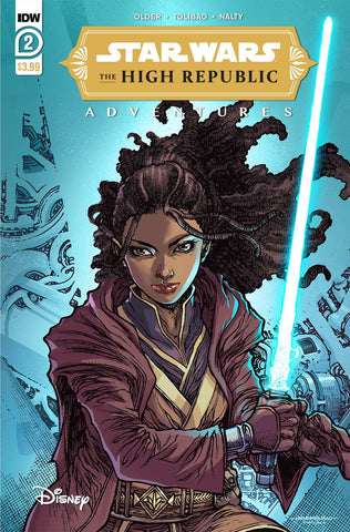 Star Wars: High Republic Adventures #2 - Cover A - 03/03/21 - Harvey Tolibao
