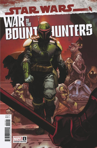 Star Wars: War of the Bounty Hunters #1 - 1:50 Ratio Variant - Pepe Larraz