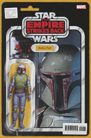 Star Wars: War of the Bounty Hunters #1 - Action Figure Variant - 06/02/21 - John Tyler Christopher