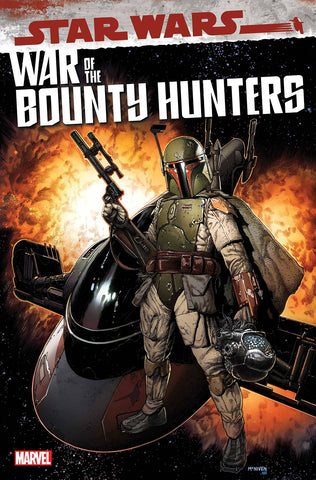 Star Wars: War of the Bounty Hunters #1 - Cover A - 06/02/21 - Steve McNiven
