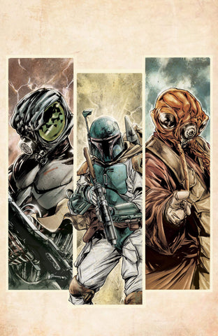 Star Wars: War of the Bounty Hunters #1 - Exclusive Variant - Paolo Villanelli