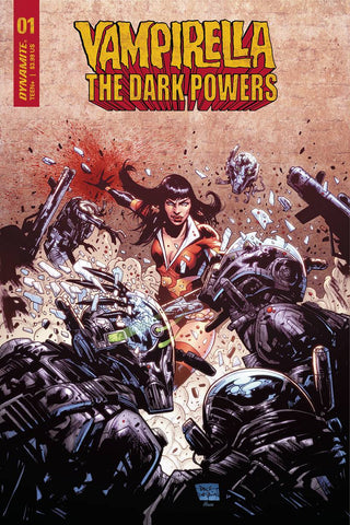 Vampirella: The Dark Powers #1 - 1:15 Ratio Variant - Paul Davidson