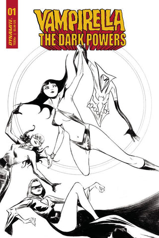 Vampirella: The Dark Powers #1 - 1:40 Ratio B&W Variant - Jae Lee