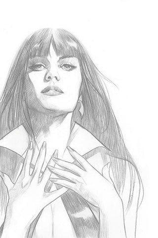 Vengeance of Vampirella #1 - 1:15 Ratio B&W Pencil Sketch Virgin Variant - Ben Oliver
