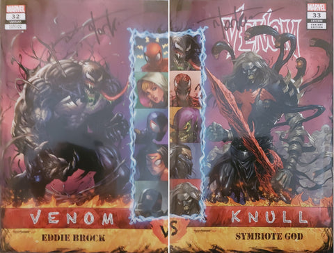 Venom #32 & #33 - Exclusive Connecting Variant Set - SIGNED - Tyler Kirkham