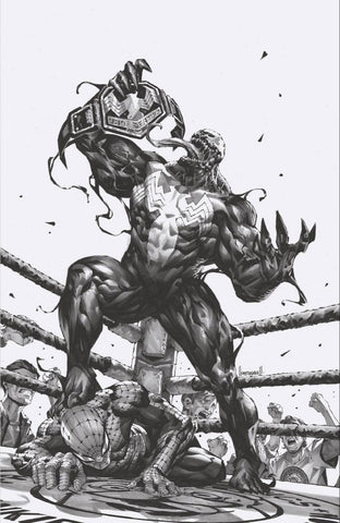 Venom #28 - CK Shared Exclusive - THIRD COVER..SKETCH! - Kael Ngu